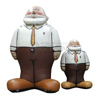 Opblaasbare abraham pop huren groot en klein formaat voor 50 jarig jubileum man