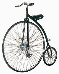 Gekke fiets huren bij Attractieverhuur Moonen