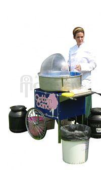 Suikerspin machine huren